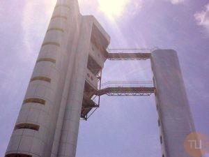 Puente estructura en acero