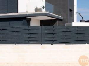 Valla balcon acero